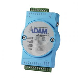 Advantech ADAM-6051 14-ch Isolated Digital I/O Module With 2-ch Counter